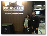 Interspeech 2016, California, USA (Sept. 8-12, 2016)